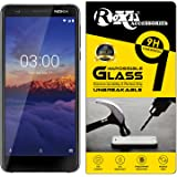 Roxel Flexiable Transparent Tempered Glass With Unbreakable Impossible Film Glass For Nokia 3.1