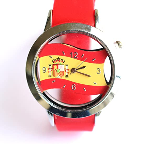 Reloj España Bandera