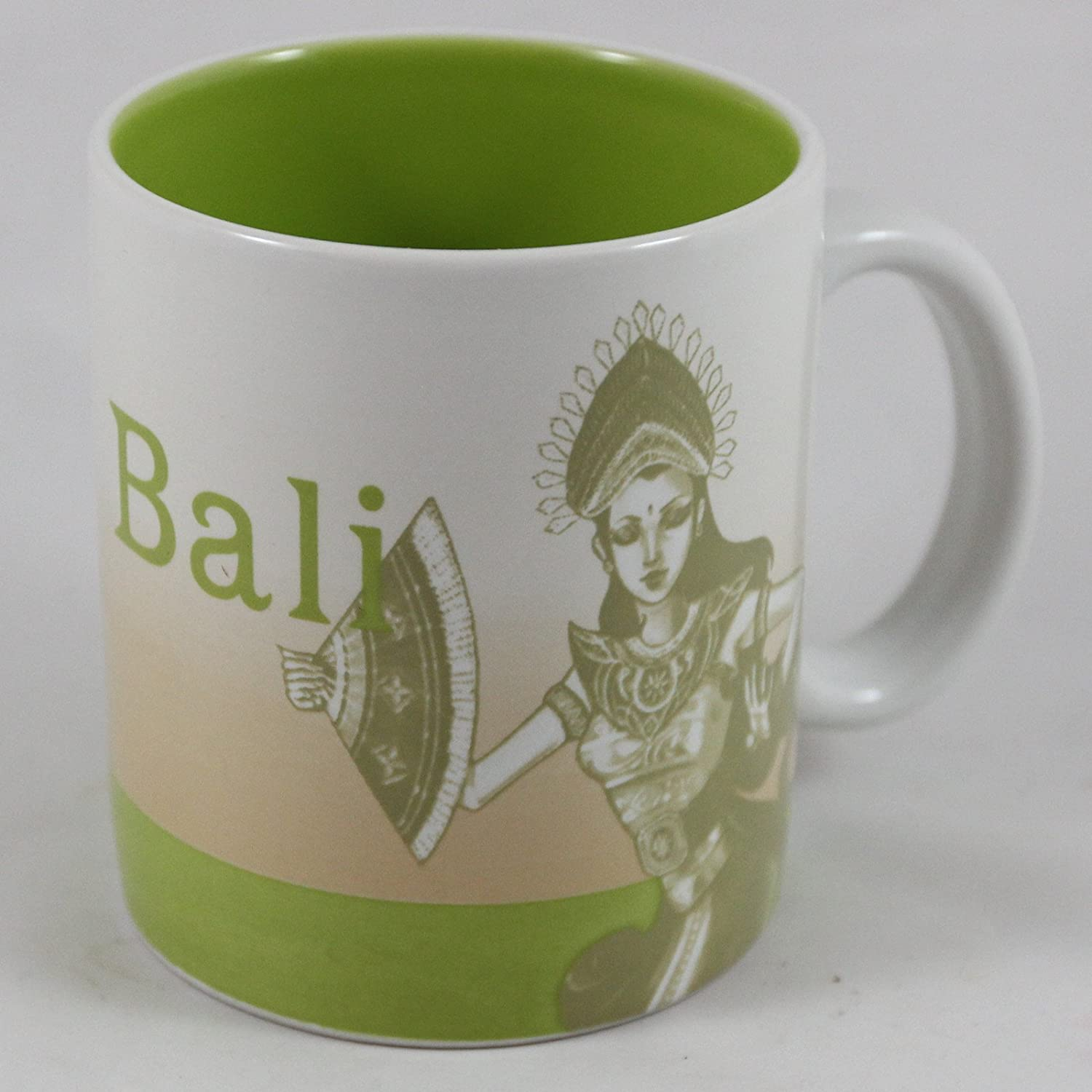 Starbucks Coffee 2011 Indonesia Dancer Series Bali Mug 16 Oz