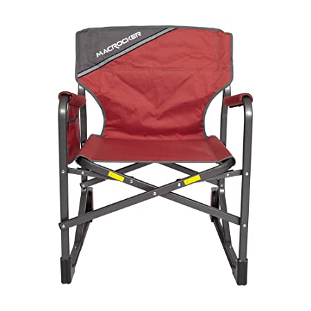 Stupendous Mac Sports C2163A 100 Macrocker Foldable Outdoor Rocking Chair Collapsible Folding Rocker Springless Rust Free Anti Tip Guard For Camping Fishing Gmtry Best Dining Table And Chair Ideas Images Gmtryco