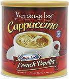 Victorian Inn Instant Cappuccino, Sugar Free French Vanilla, 1.4 Pound