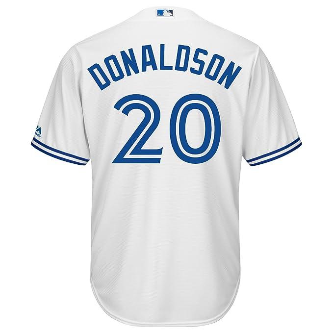 brand new b7396 3f3a8 Josh Donaldson Toronto Blue Jays Cool Base Replica Home ...
