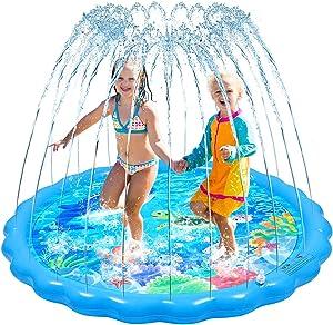 STOBOK Sprinkle and Splash Play Mat, 67