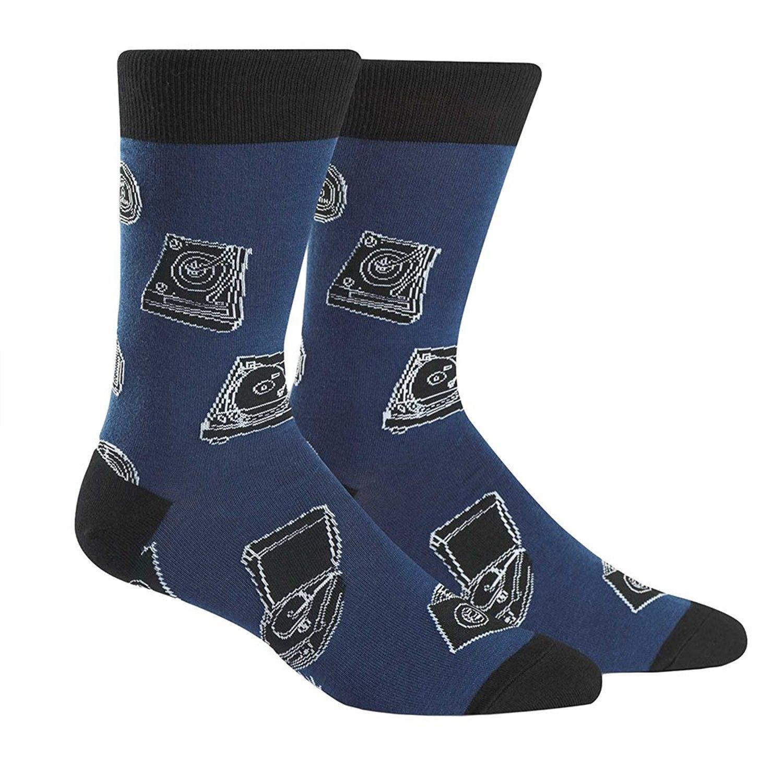 Sock It To Me Men's Crew Socks - Music Man MEF0210