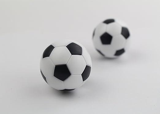 12 bolas de repuesto para futbolín, tamaño pequeño, 36 mm, color ...