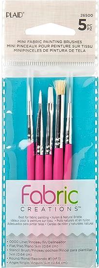 Fabric Painting Brushes American Painter Fabric Flat 1420 Fabric Brush Set