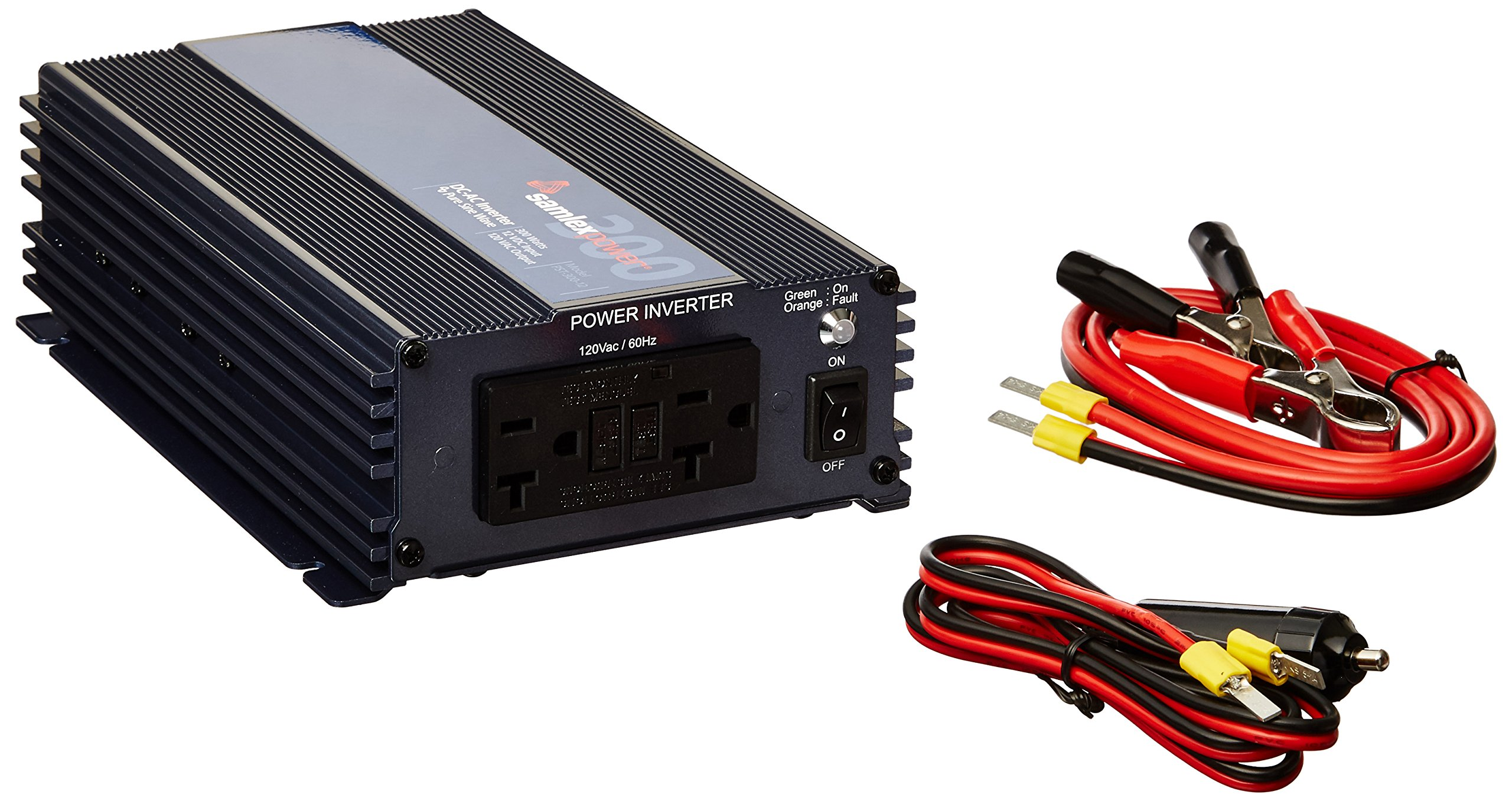 Samlex Solar PST-300-12 PST Series Pure Sine Wave Inverter
