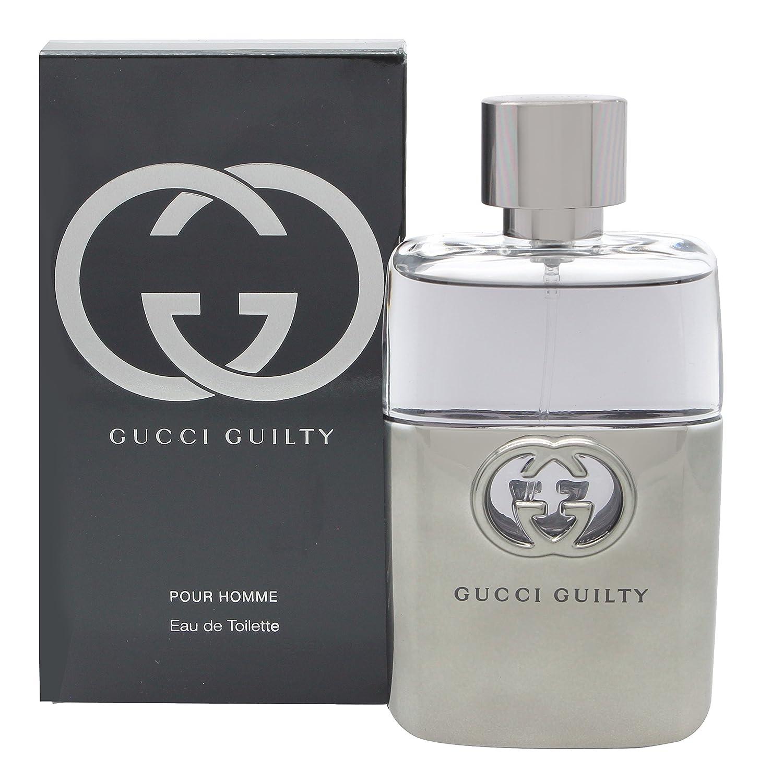 d91d37d406a Amazon.com : Gucci Guilty Pour Homme Eau De Toilette Spray 1.7 oz. : Beauty