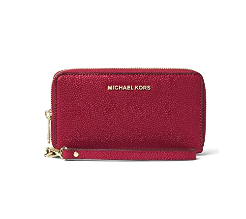 Michael Kors - Cartera para mujer de Piel Mujer, color rojo, talla Einheitsgröße