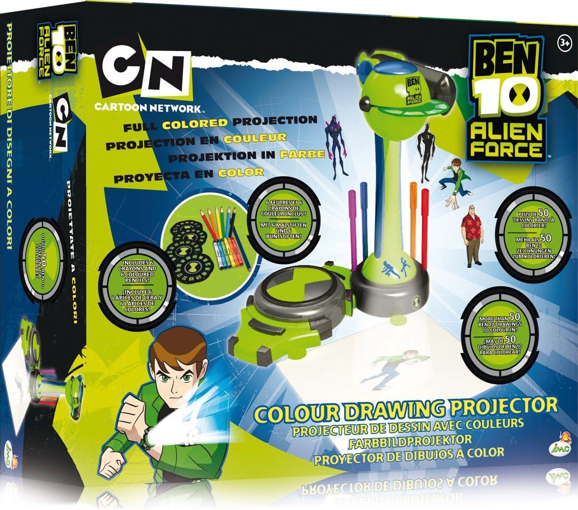 IMC Toys Ben10 Proyector Dibujos Omnitr: Amazon.es: Juguetes y juegos