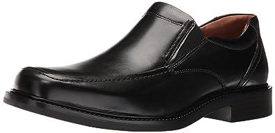 Johnston & Murphy Men's Tabor Slip On Slip-On Loafer, Black Calfskin, ...