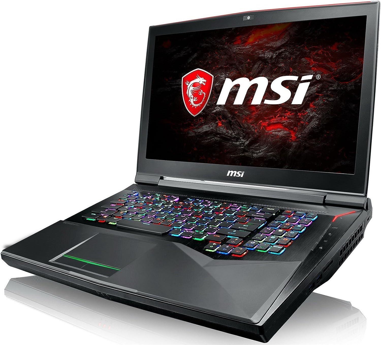 """MSI GT75VR TITAN PRO-202 17.3"""" FHD 120Hz WVA   Intel i7-7820HK   NVIDIA GTX 1080   16GB   1TB   Windows 10   RGB Keyboard"""