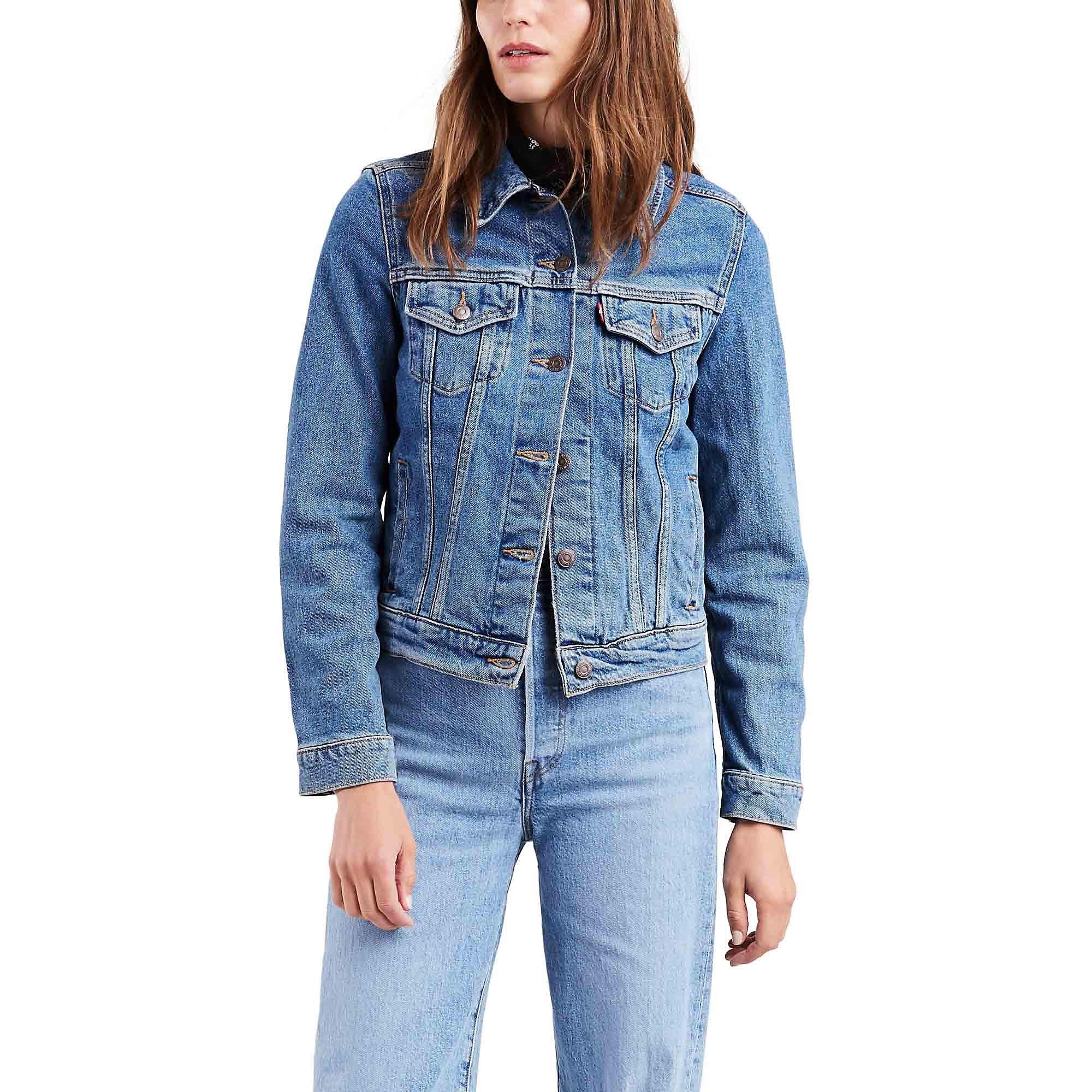 Levi's Original Trucker Jacket - Women's - Throw Elbows XS by Levi's