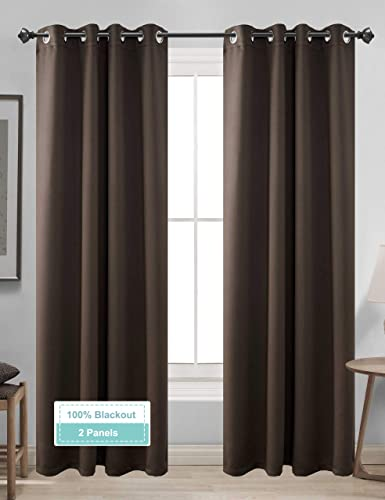 CLB 100 Blackout Curtains 2 Panels