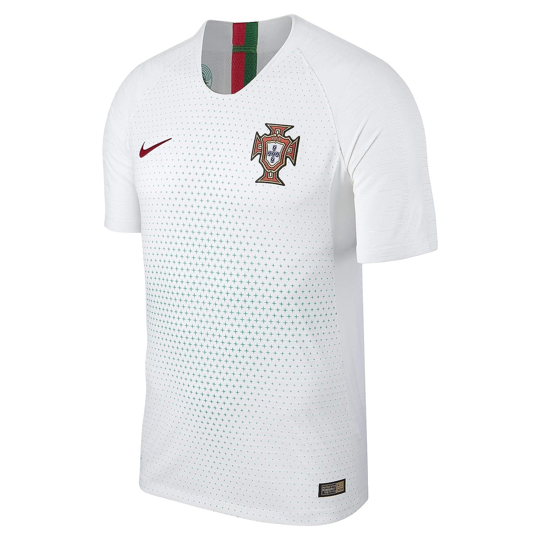 0185947f Amazon.com : Nike 2018-2019 Portugal Away Vapor Match Football Soccer T- Shirt Jersey : Clothing