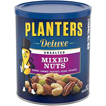 Planters Unsalted Mixed Nuts (15 25 oz)