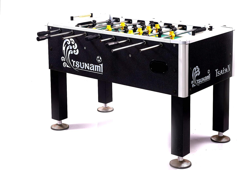 Ding Li Mesa de futbolín Tournament Tsunami TS2012: Amazon.es: Deportes y aire libre