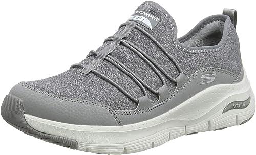 Skechers Arch Fit, Zapatillas para Mujer: Amazon.es: Zapatos y ...