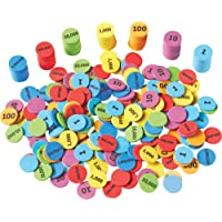 Learning Resources LER5215 Place Value Disks,Multi-color