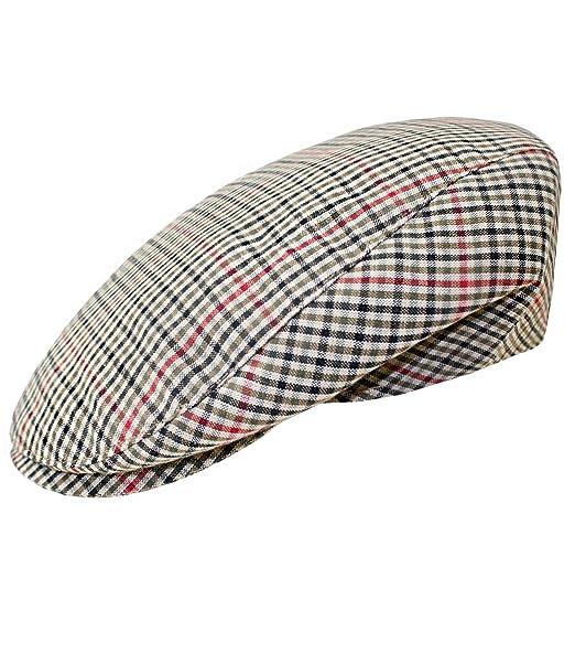 EveryHead Hombre Flatcap Gorra Plana Gorro De Pantalla con Visera Sombrero  del Verano Casquillo Los Deportes e671165a2ac