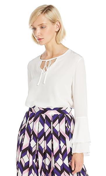 Lilysilk Blusa de Mujer Elegante con Lazos - 100% Seda Natural de 18MM, Super