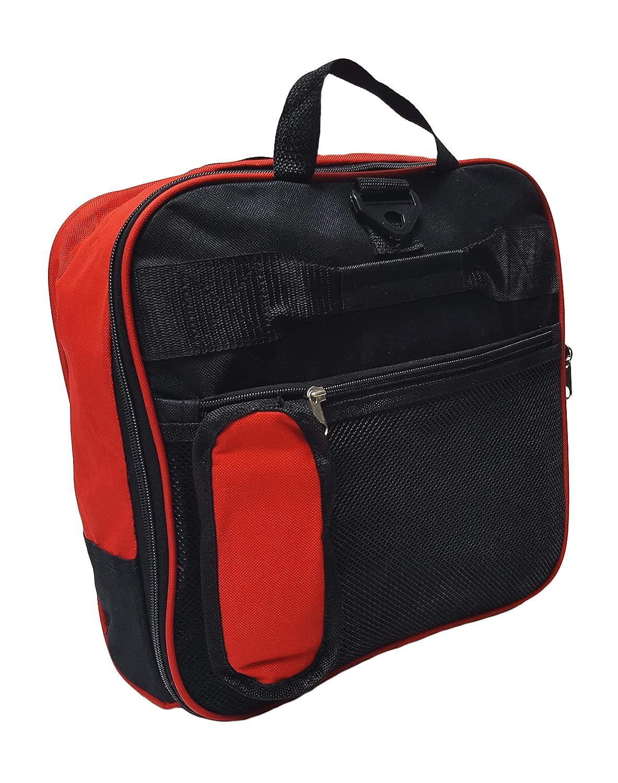 81,3/cm Grand Sac de sport /à roulettes pliant Cargo Sac fourre-tout Sac de sport Noir Noir et rouge 79x33x33