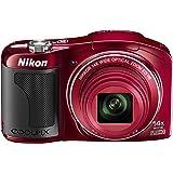 Nikon デジタルカメラ COOLPIX L610 光学14倍 単3形電池対応 レッド L610RD