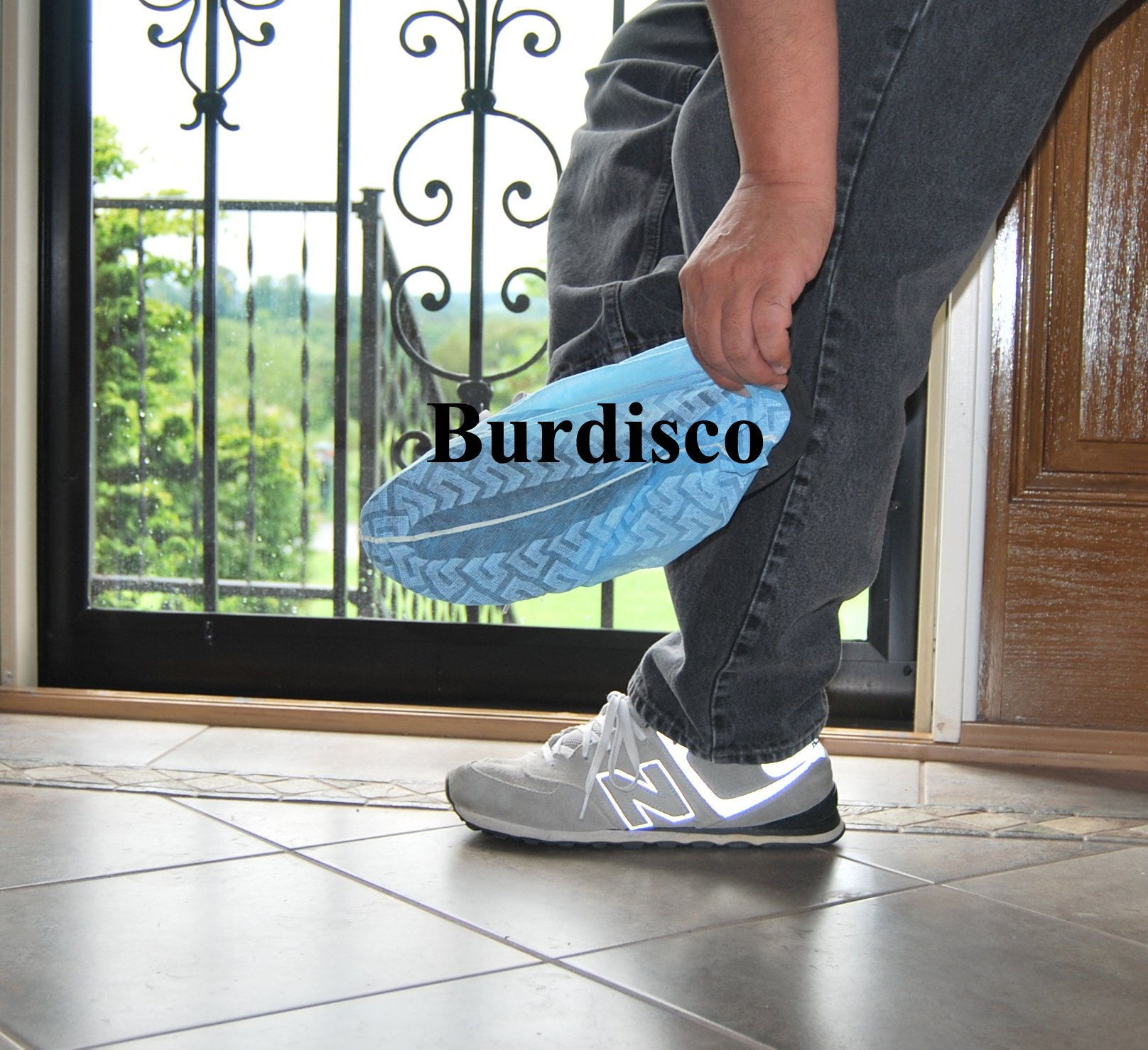 Disposable Shoe Covers Large LGE Non Skid Wholesale 1000 Pack