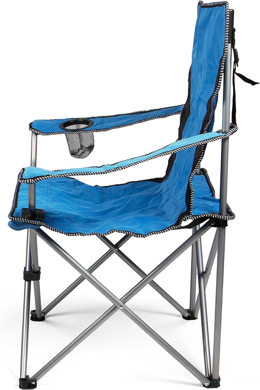 Taille Unique Wanderlust WL-3124 Chaise de Camping-Vert Mixte Bleu