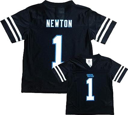 size 40 8be13 faa45 Cam Newton Carolina Panthers Black Toddler Player Home Jersey