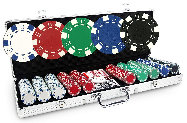 Malette Poker Dice 500 jetons POKEO