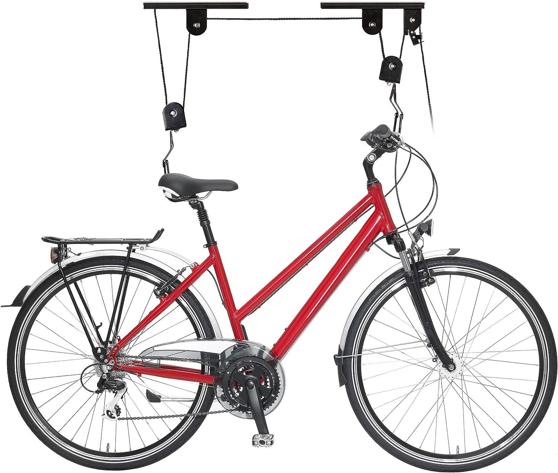 도구 시간 TOOLTIME 자전거 풀리 호이스트 자전거 리프트 사이클 스토리지 랙 50LB20KG