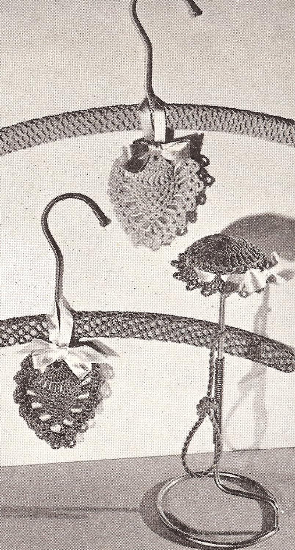 Amazon Vintage Crochet Pattern To Make Heart Sachet