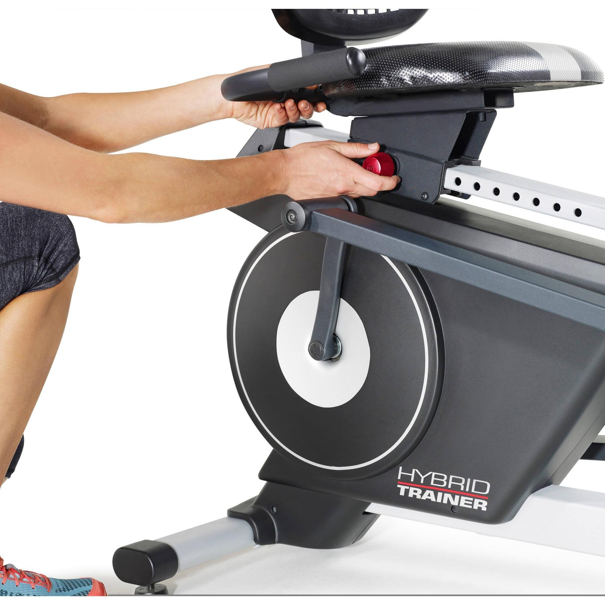 2-in-1 Double Elliptical and Recumbent Bike, Black by ProForm (Image #8)