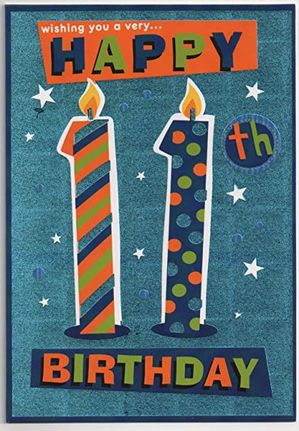 SUPER COOL NEPHEW! FOILED 19cm x 13cm NEPHEW BIRTHDAY CARD BY GREETINGS