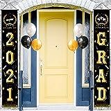 Graduation Decorations 2021 Grad Party Supplies Décor, Graduation Door Decorations 71' x 12.5' Large Sign Banners for Yard Po