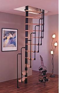 Intercon® Skidoo Spindeltreppe 120 x 60 cm oder 140 x 70 cm bis 292 ...