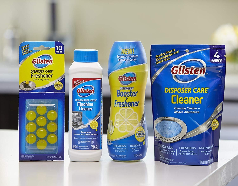 Dishwasher Magic Dishwasher Disinfectant and Cleaner 12 oz (3 Pack)