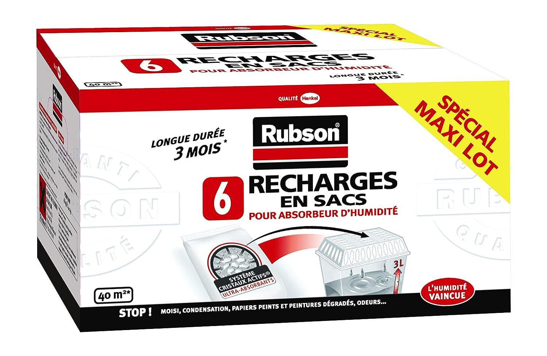Rubson - RUBSON - Recharge pour déshumidificateur x 6 - 461950 B005WXCROW