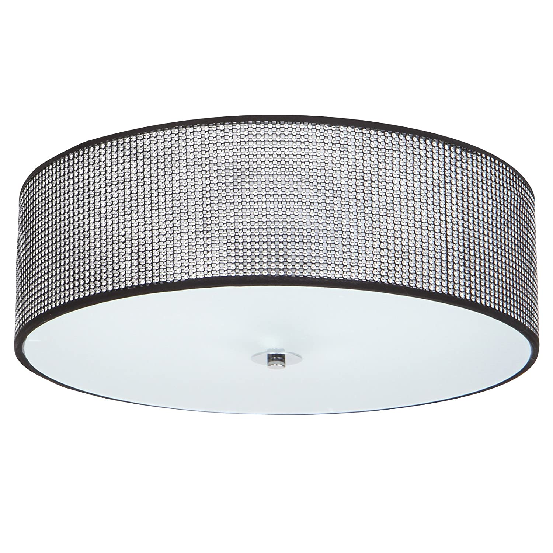 Jago - Lámpara de techo colgante A++ hasta E plafón con pequeños cristales