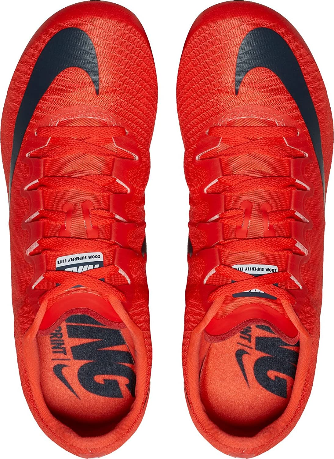 3289ef9ce2ff Amazon.com  Nike Men s Zoom Superfly Elite Track and Field Shoes US  Shoes