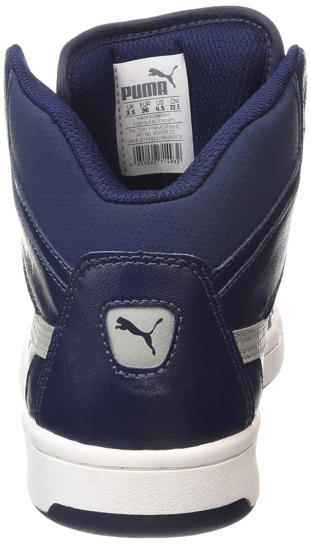scarpe puma alte blu
