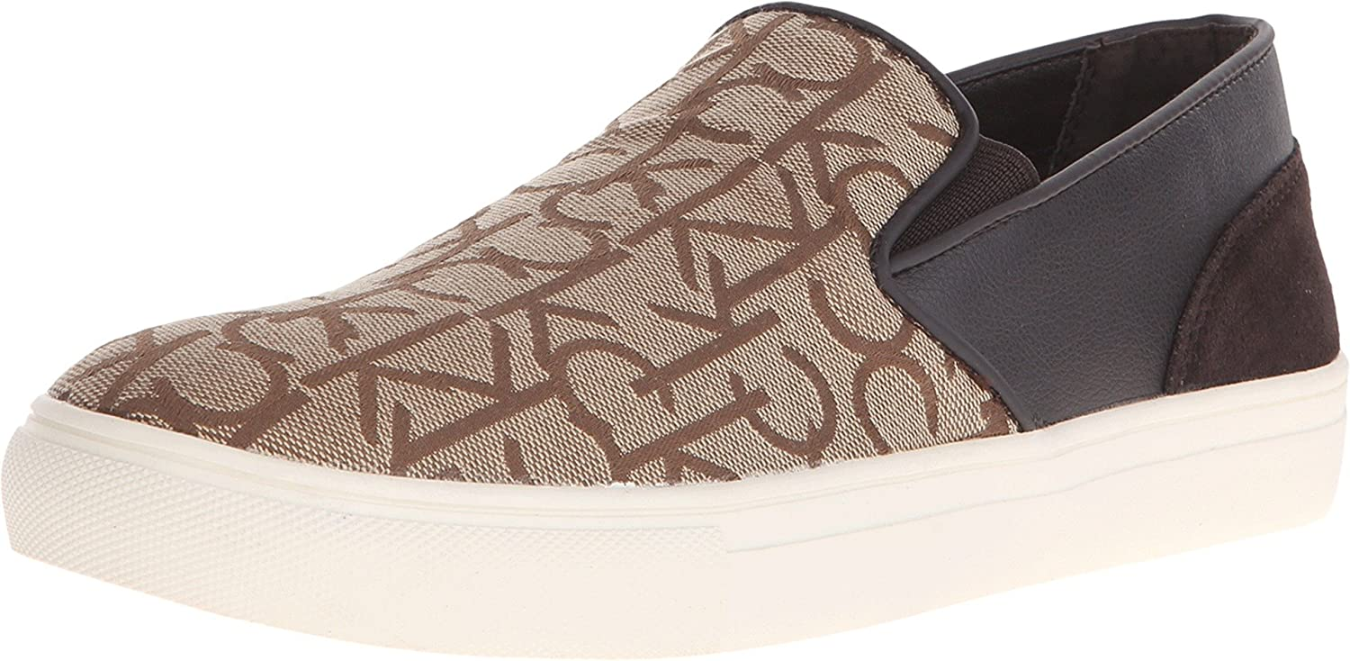 Calvin Klein Men's Phoenix Khaki Logo Jacquard Sneaker 13 M: Amazon.in:  Shoes & Handbags