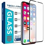 Tech Armor Edge to Edge Glass Screen Protector for New 2019 Apple iPhone 11 Pro/iPhone X/iPhone Xs - Case-Friendly Tempered G