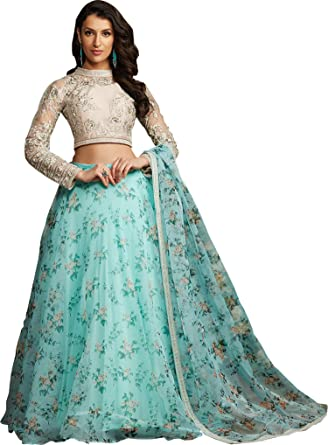 Wandar Beauty Women S Net Heavy Embroidery Lehenga Choli