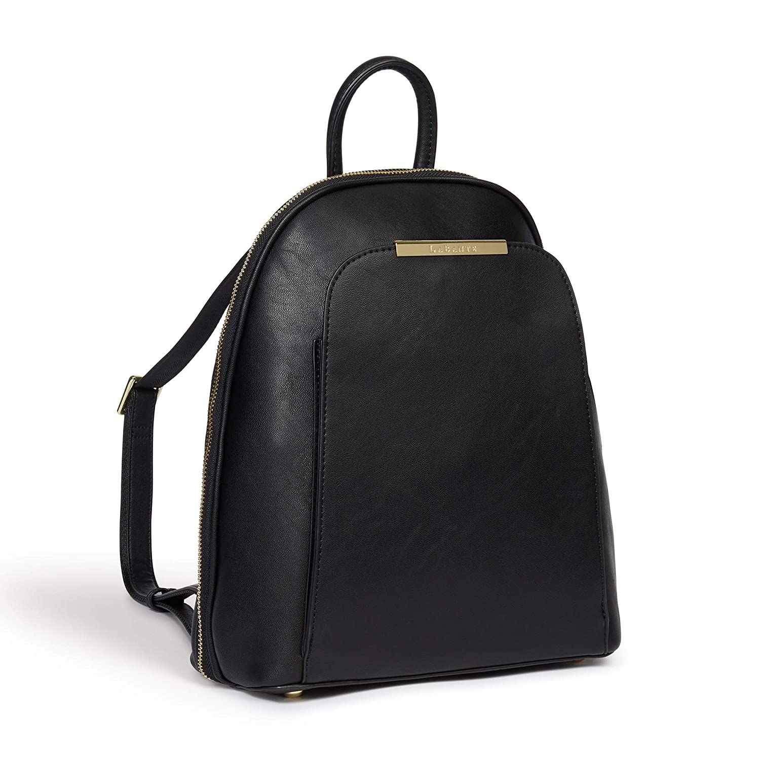 c0af02bf3 LaBante -Sycamore- Vegan Leather Backpack for women - black backpack cute  backpacks for girls womens bags fashion backpack small backpack for women ( Black)