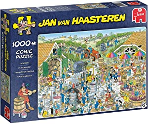 Jumbo 19095 Jan Van Haasteren-The Winery 1000 Piece Jigsaw Puzzle