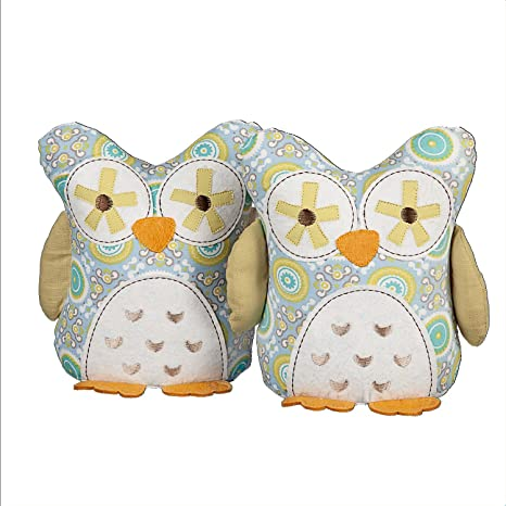 Lolli Living Bookend Friends U2013 Gio Owl U2013 Adorable Weighted Animal Shaped  Bookends For Baby Nursery