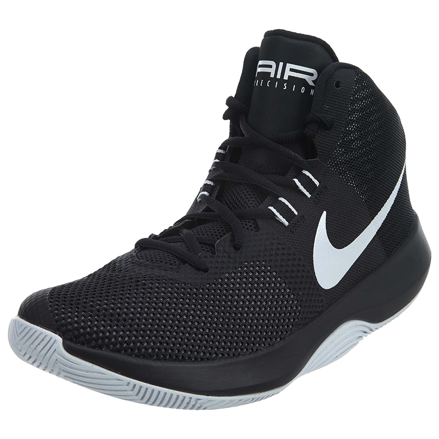 Nike Mens Air Precision BlackWhiteCool Grey Basketball