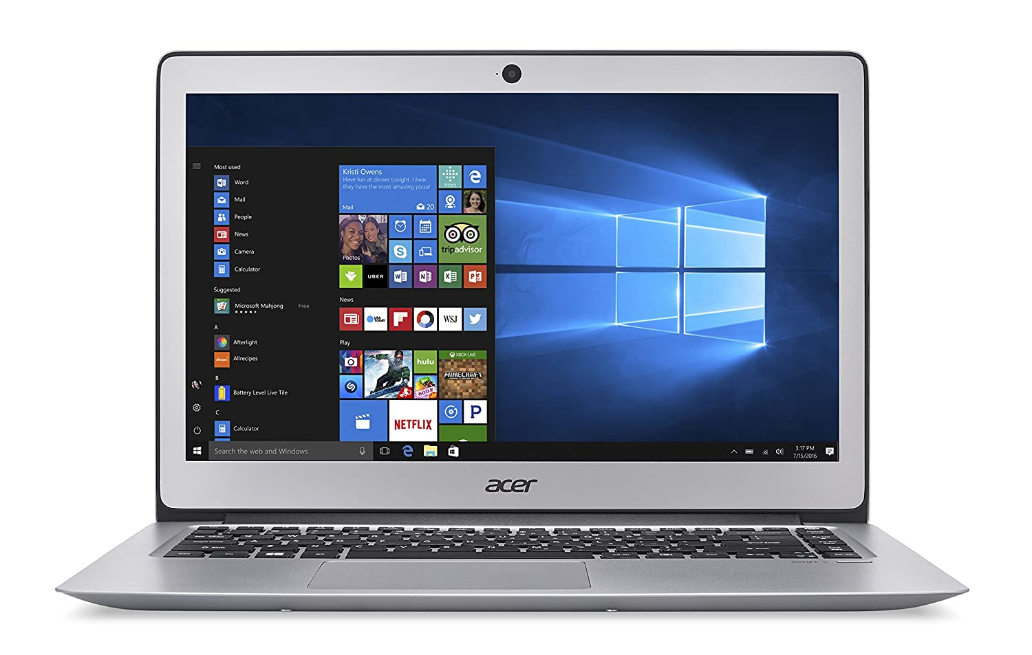 Acer Aspire Swift 3 SF314-51-55B2 - Ordenador portátil , i5-6200U, 14